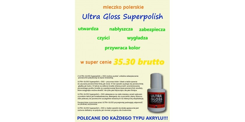 MLECZKO ULTRA GLOSS SUPERPOLISH